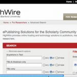 HighWire Literature Search